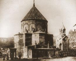 Iglesia Armenia de los Santos Apóstoles . Siglo XIII - Foto de finales del s. XIX