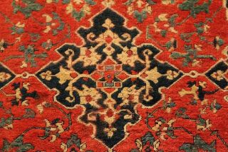 El alma oriental en el arte de las alfombras.