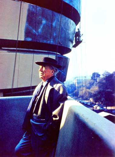 Arquitecto americano Frank Lloyd Wright.